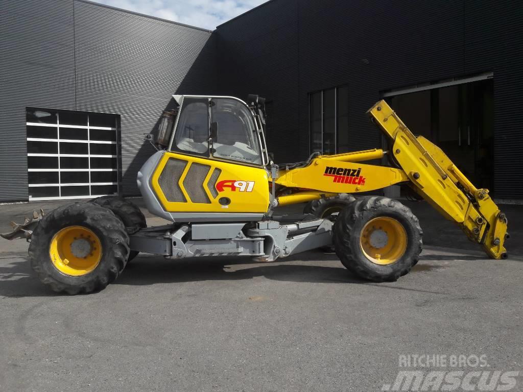 Menzi Muck A91 4x4 plus