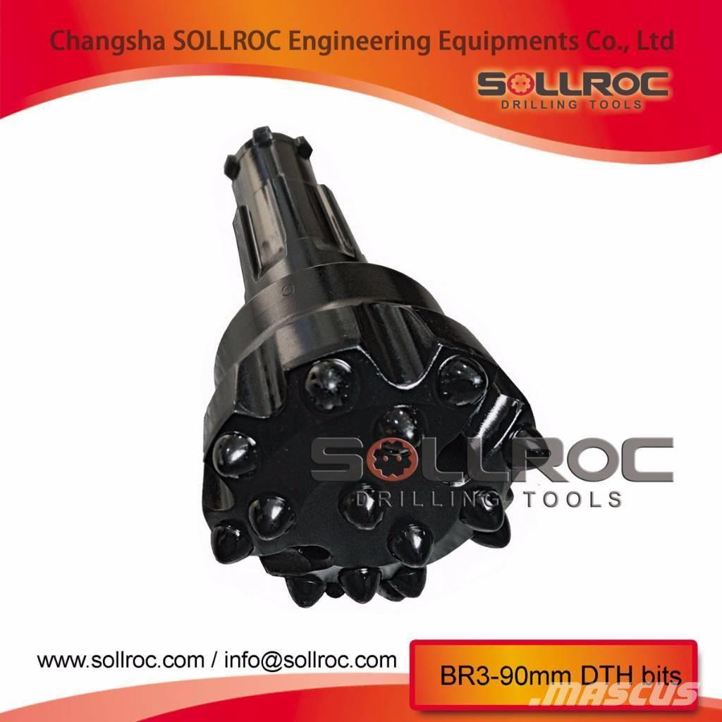 Sollroc BR1, BR2, BR3 DTH bits
