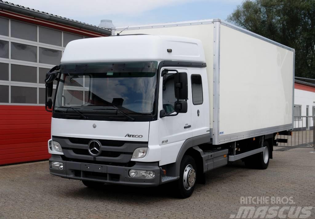 Mercedes-Benz Atego 818RL Koffer 6,20m Klima LBW 1500kg TÜV