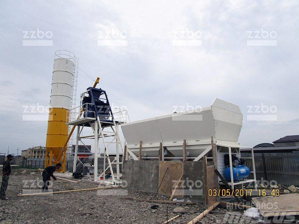 ZZBO Concrete mixing plant SKIP-45 / БРУ-2Г-45АС