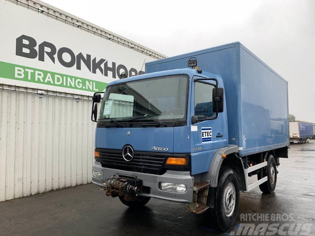 Mercedes-Benz Atego 1318 4X4 Box Body - Full steel - Winch - Dho