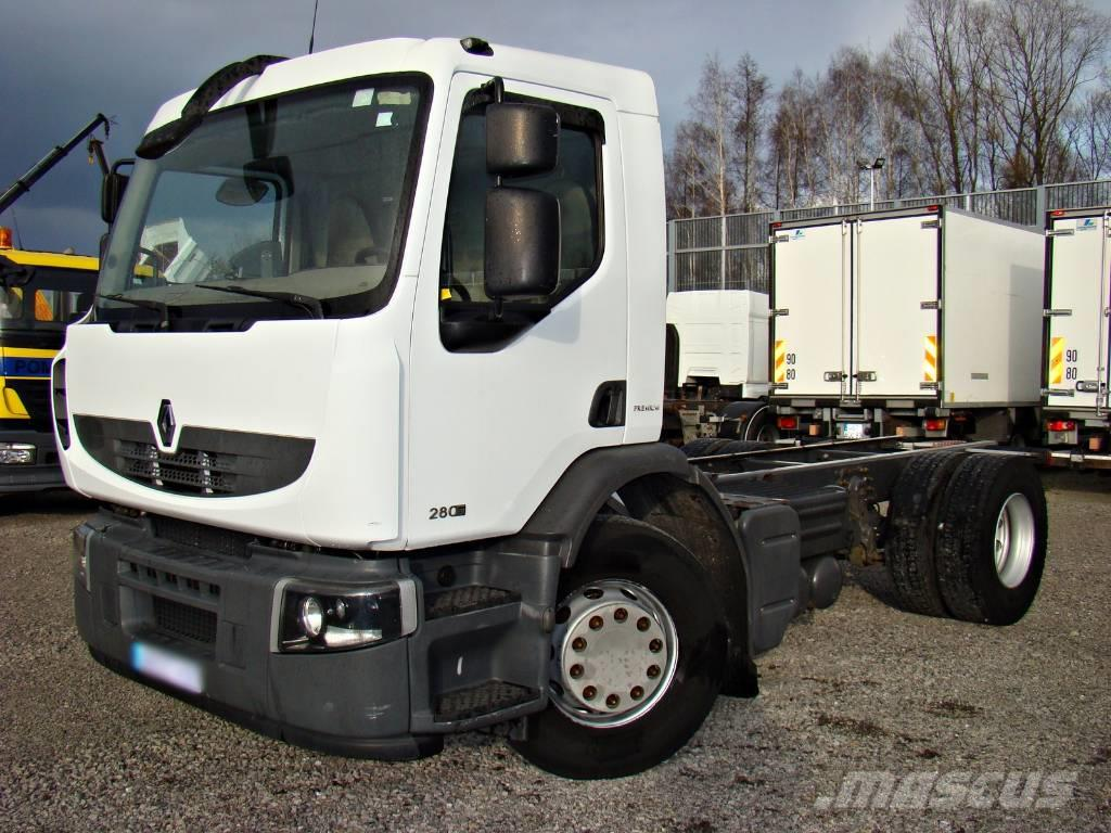 Renault Premium 280.19 DXI CHASSIS with hydraulic Rama