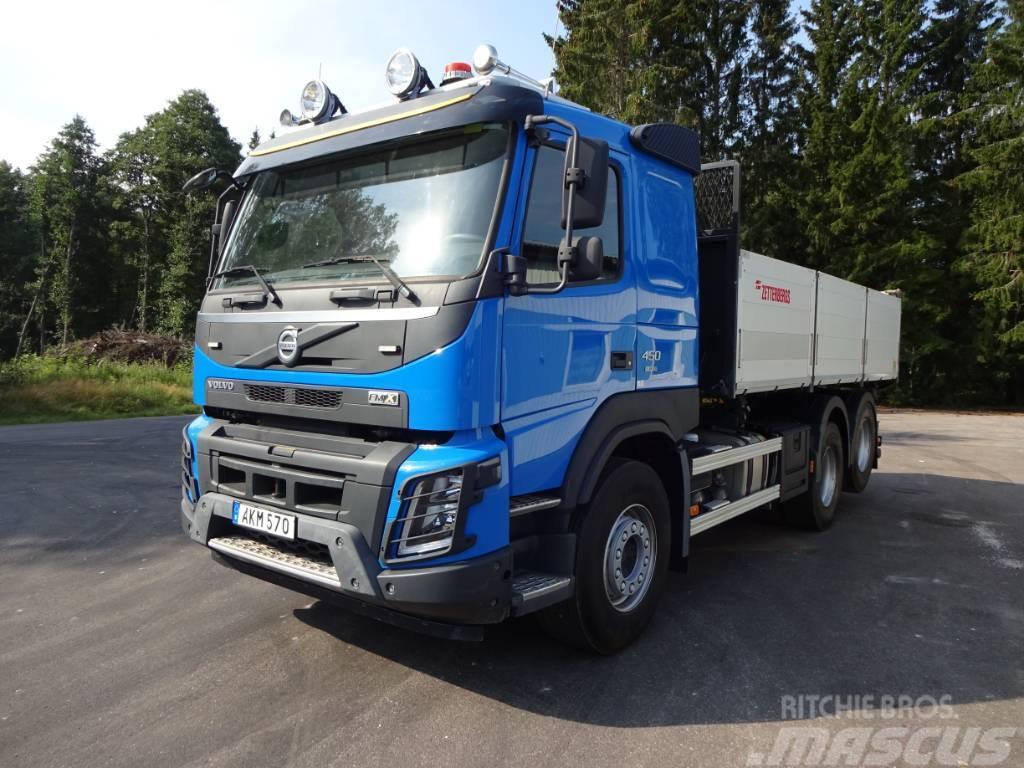 Volvo FMX EURO6 OBS Miltal 7508mil FMX 450 6x2