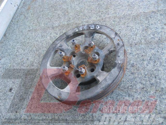 Scania 4 series Crankshaft pulley 1411716 71561411