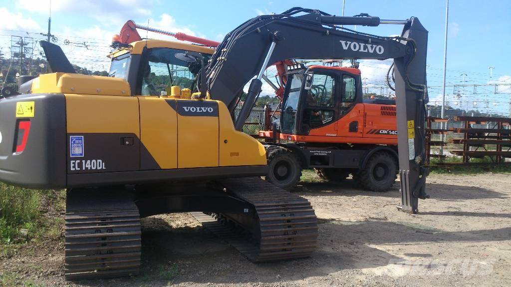 Volvo EC 140 D, Uthyres