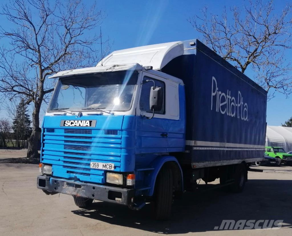Scania 112HL full steel