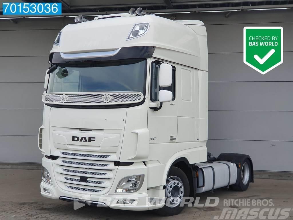 DAF XF 480 4X2 SSC Mega Intarder ACC Standklima 2x Tan