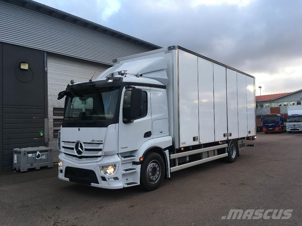 used mercedes benz actros 1836 ny bil f r omg ende leverans box trucks year 2017 for sale. Black Bedroom Furniture Sets. Home Design Ideas