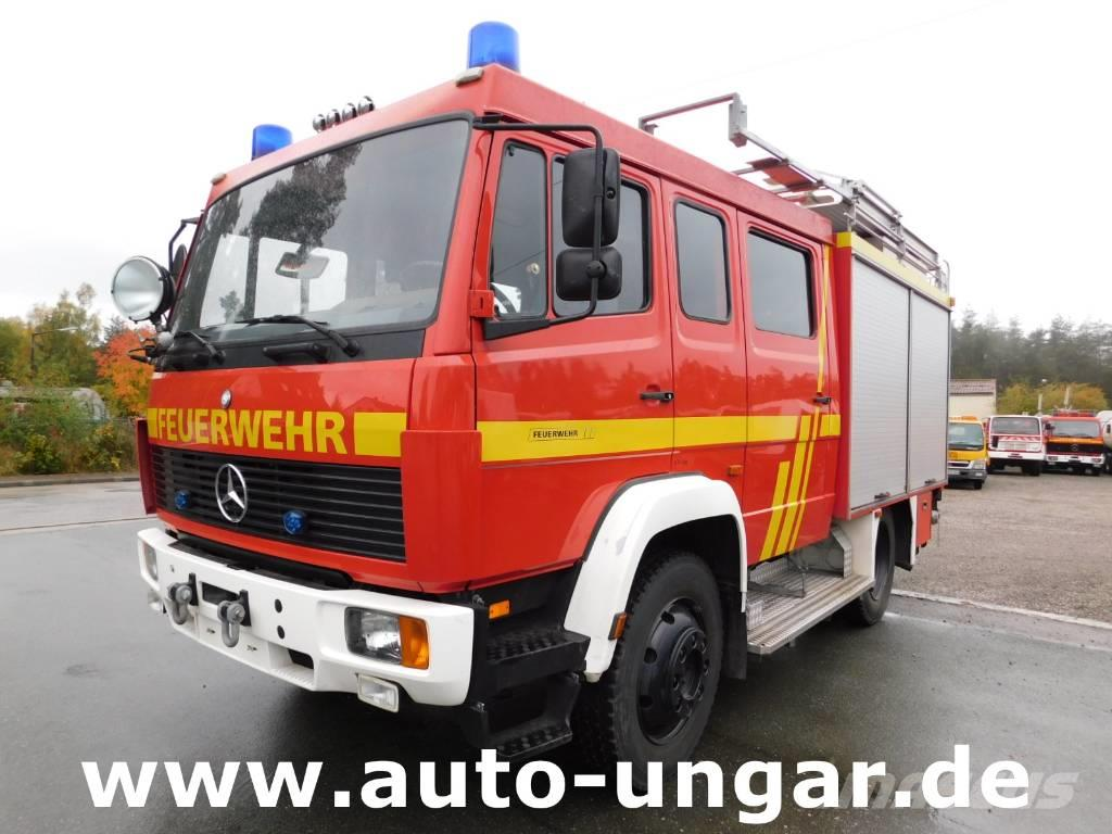 mercedes benz 917af lf8 6 feuerwehr 4x4 600liter 90530. Black Bedroom Furniture Sets. Home Design Ideas