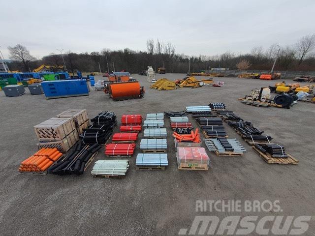 Metso Nordberg rolki do przenosnika pakiet 1150szt