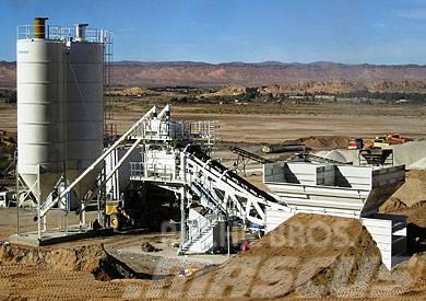 Frumecar ECA - ultra mobiele betoncentrale 30 - 120 m³/uur