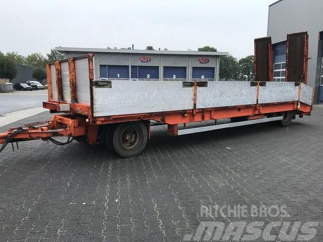 GS Meppel AL 2000 L , 8.20 Mtr Dieplader, Rampen, Kle