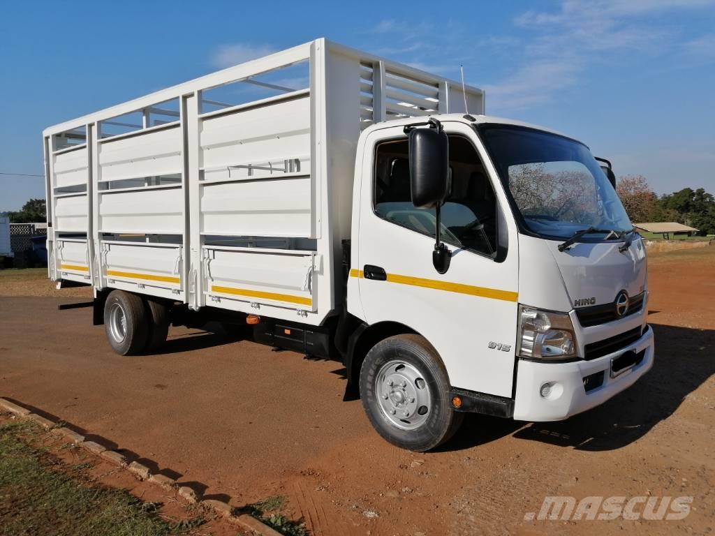 Hino 300-915 WITH CATTLE BODY.a/c & e/w