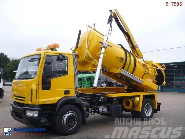 Iveco EUROCARGO ML180E25 VACUUM TRUCK / HYDROCUREUR 8.2