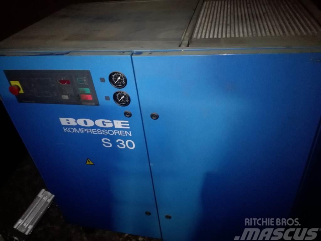 BOGE šroubový kompresor Boge BOGE S30