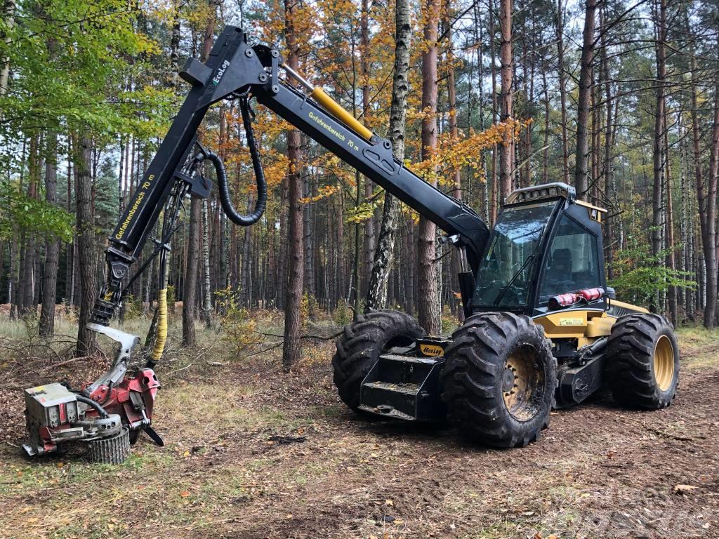 Eco Log 550D  mit LogMax 5000 - Gebrauchtmaschine