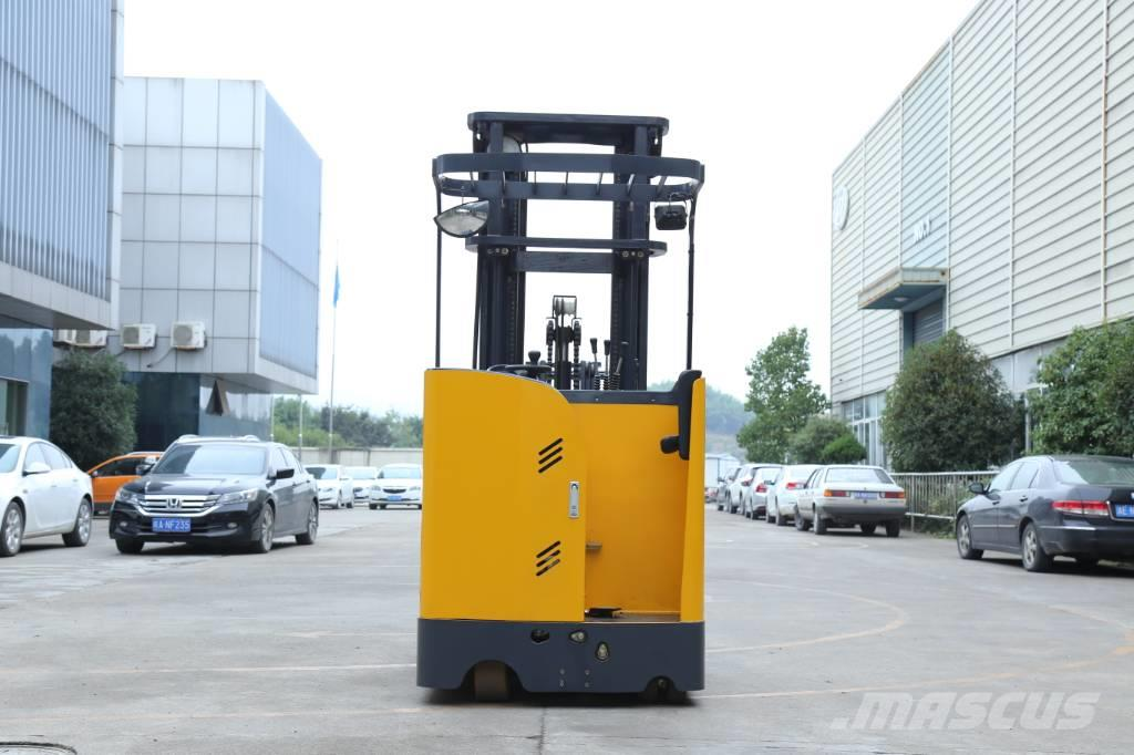 UN Forklift FBR20 Stand-on Reach Truck with Mast 6000mm