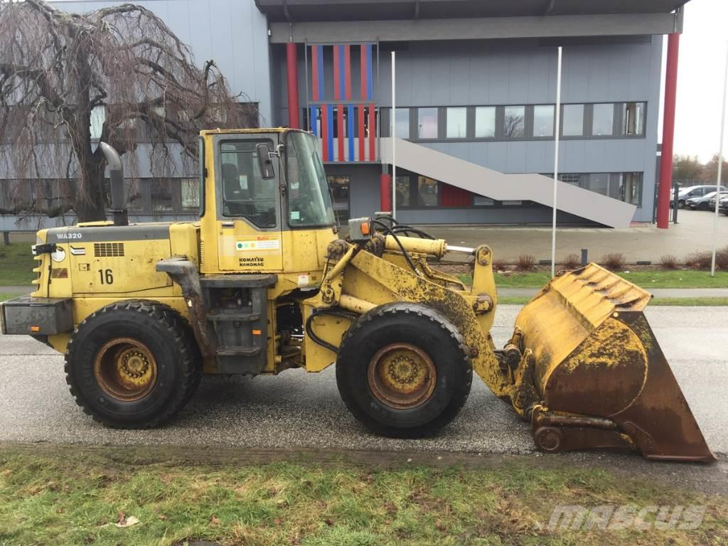 Komatsu 320-3 H German machine !, 1996, Wheel loaders ...