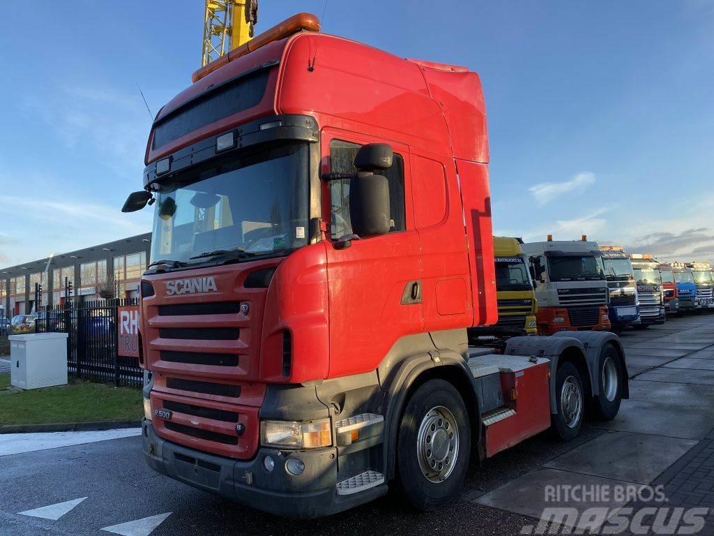 Scania R500 V8 6X2 MANUAL + RETARDER