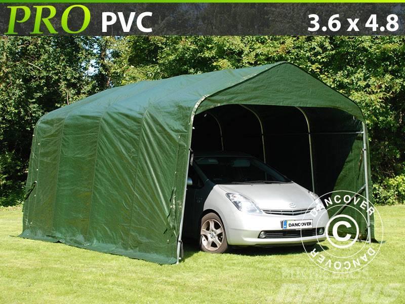 Dancover Portable Garage 3,6x4,8x2,7m PVC Lagertelt