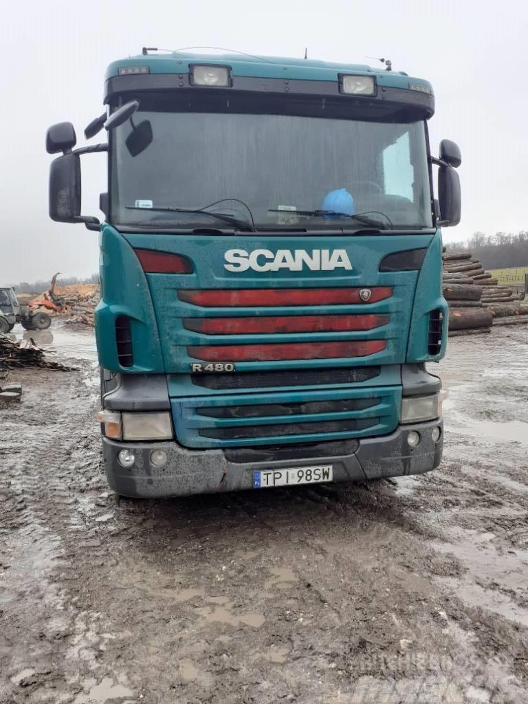 Scania hakowiec 480