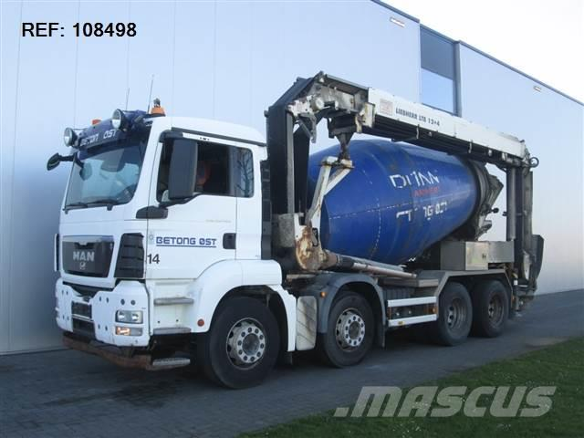 MAN TGS 35.400 EURO 4 8X4 MANUAL LIEBHERR