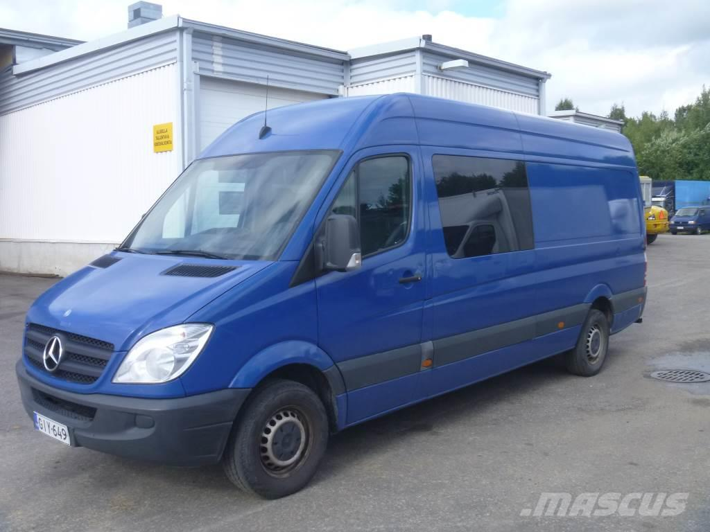 Used mercedes benz sprinter 311cdi 6 henkil panel vans for Price of mercedes benz sprinter