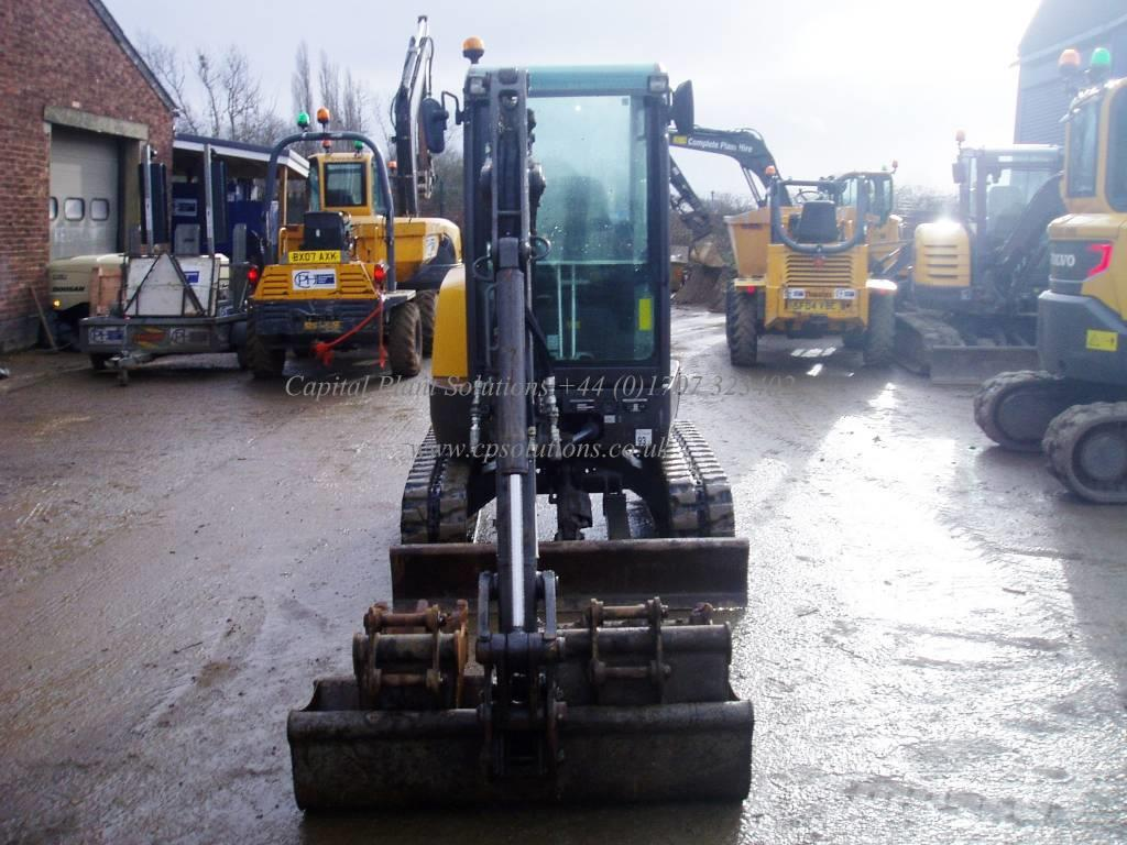 Used Volvo Ecr 25 D Mini Excavators
