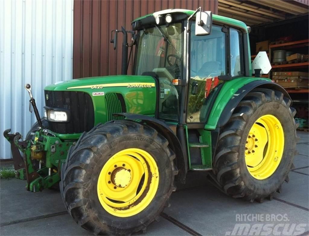 john deere 6420 traktor tahun pembuatan 2003  mascus
