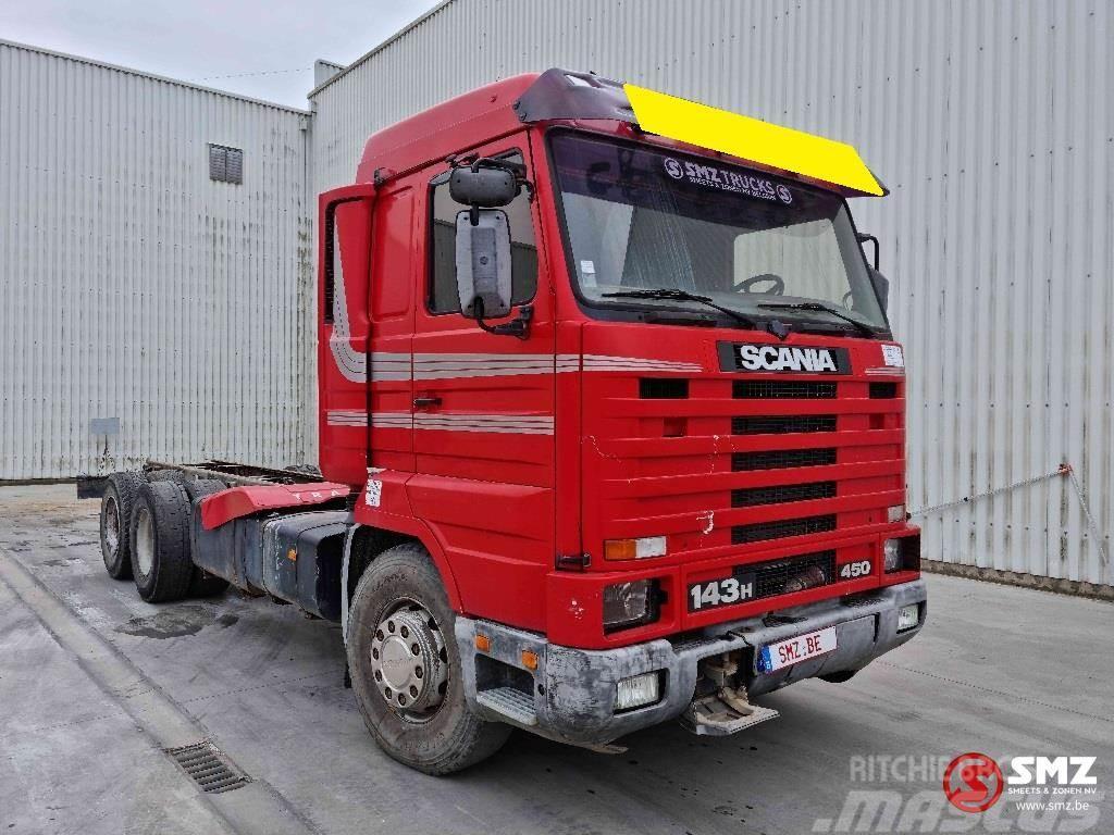 Scania 143 450 motorproblem boogie