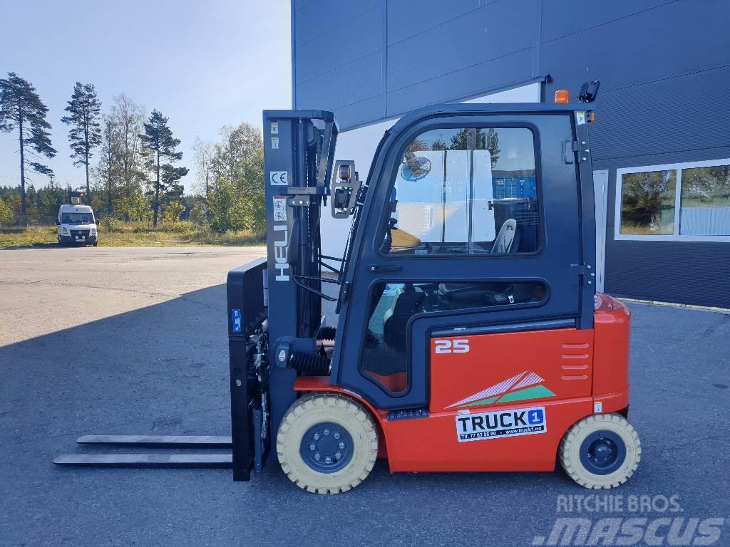 Heli CPD25-GD2 - 2,5 t el. truck - 4,7 m LH (PÅ LAGER)