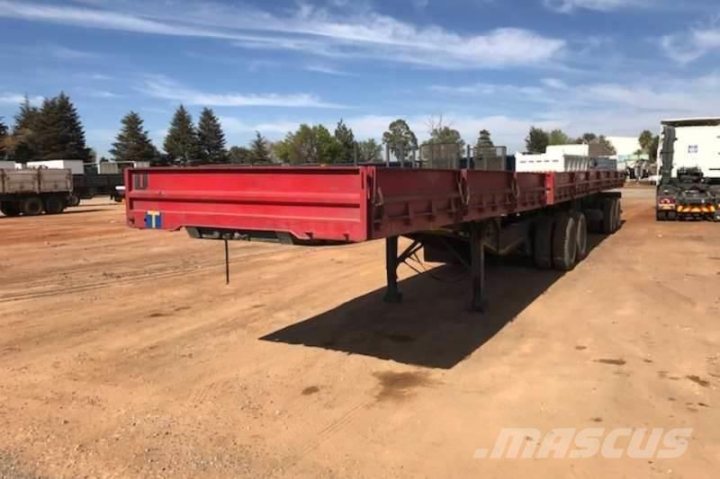 Sa Truck Bodies Superlink Dropside Side Tipper Trailer
