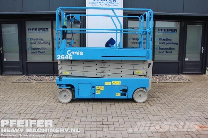 Genie GS2646 Low Hours, Electric, 10 m Working Height.