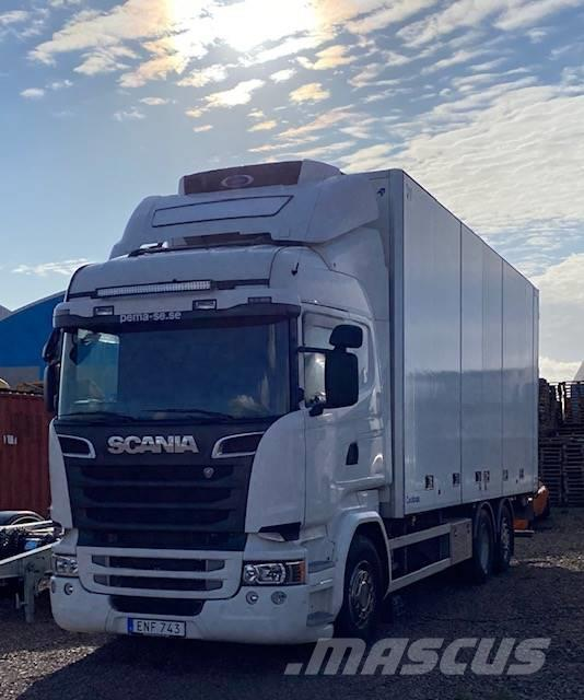 Scania R580 Fjärrbil Kyl/Frysbil ( FRC ) Lift