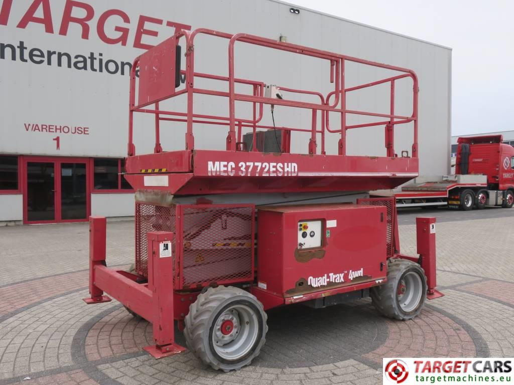 MEC 3772ES HD Electric 4x4 Scissor Work Lift 1300cm