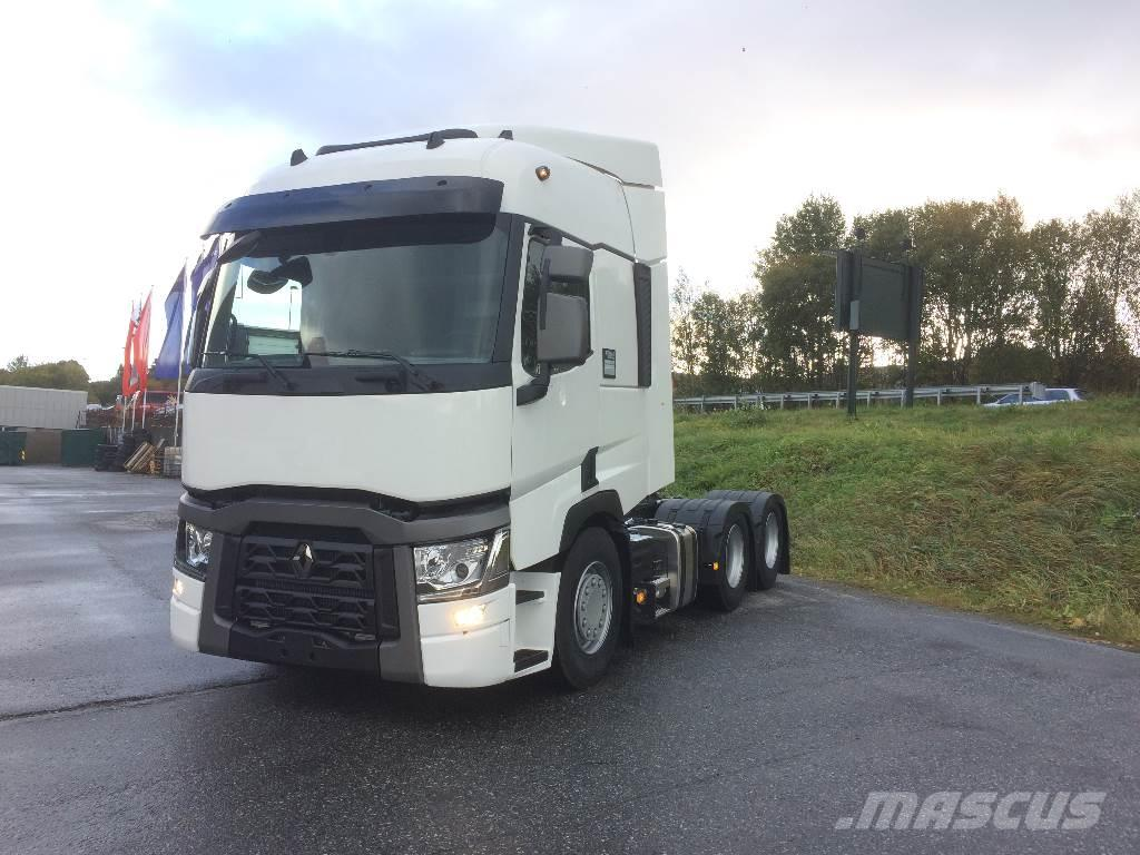 used renault t 520 6x2 tractor units year 2017 price 120 967 for sale mascus usa. Black Bedroom Furniture Sets. Home Design Ideas