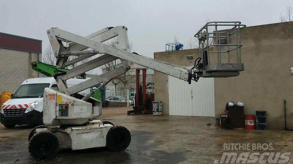 Manitou 150AET 15m Used boom lift, work platform lift.