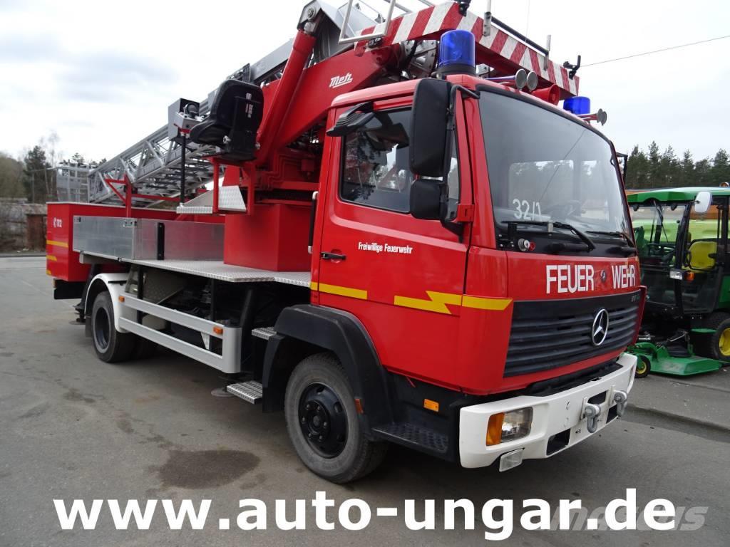Mercedes-Benz 817 F DLK 12-9 SE Metz Drehleiter Feuerwehr