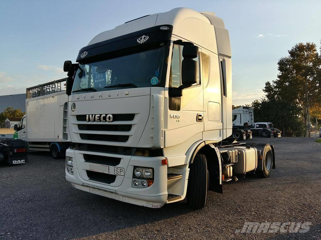 used iveco stralis 440 s50 tractor units year 2009 price 16 670 for sale mascus usa. Black Bedroom Furniture Sets. Home Design Ideas