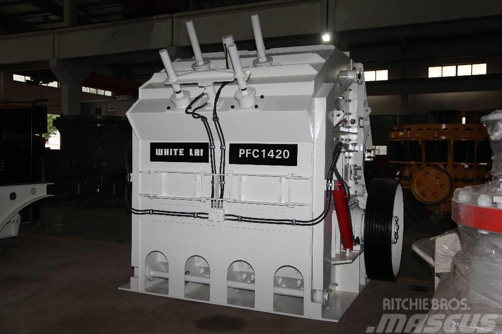White Lai Large Output Stone Impact Crusher Machine PFC1420