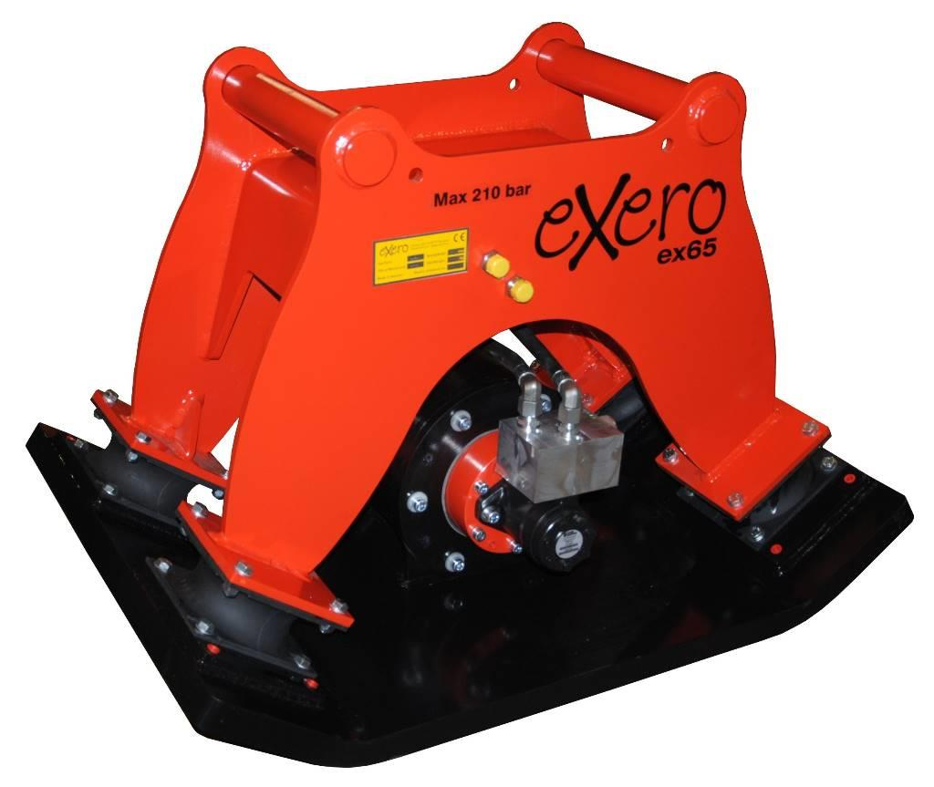 Exero Compactor plate Ex65