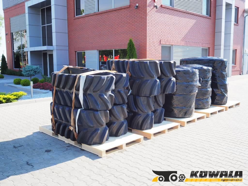 Claas TERRA TRAC (635 mm rubber belt)