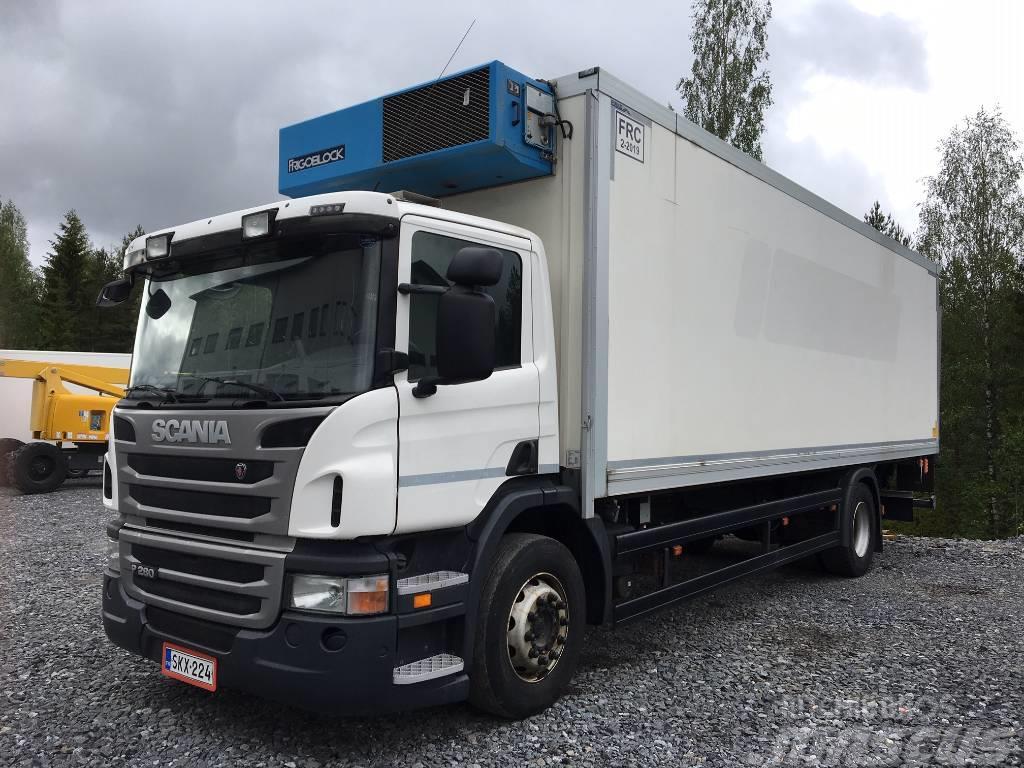 Scania P 280 4X2, FRC-kori + PL