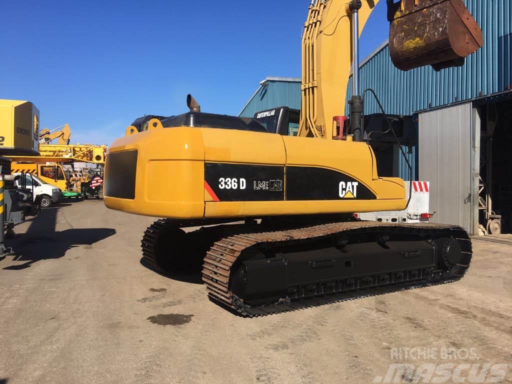 Caterpillar 336 D, Crawler excavators ...