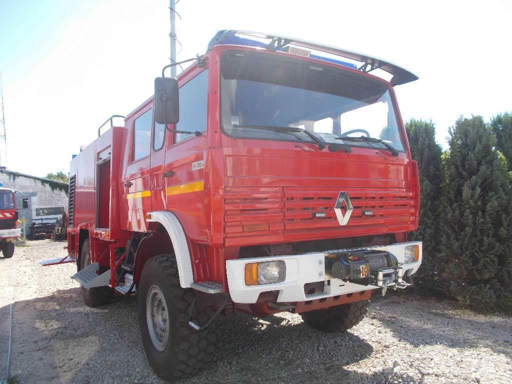 renault 4x4 po arniczy stra acki fire trucks price 30 696 year of manufacture 1996. Black Bedroom Furniture Sets. Home Design Ideas