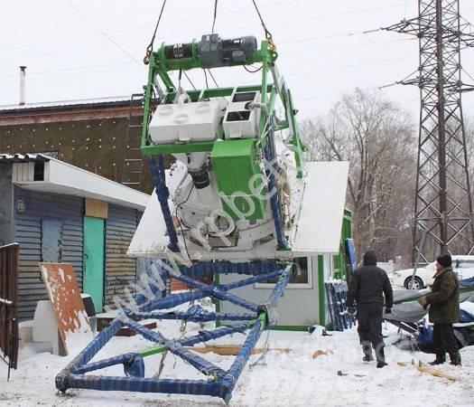 [Other] Бетонный завод мобильный МВТ 08