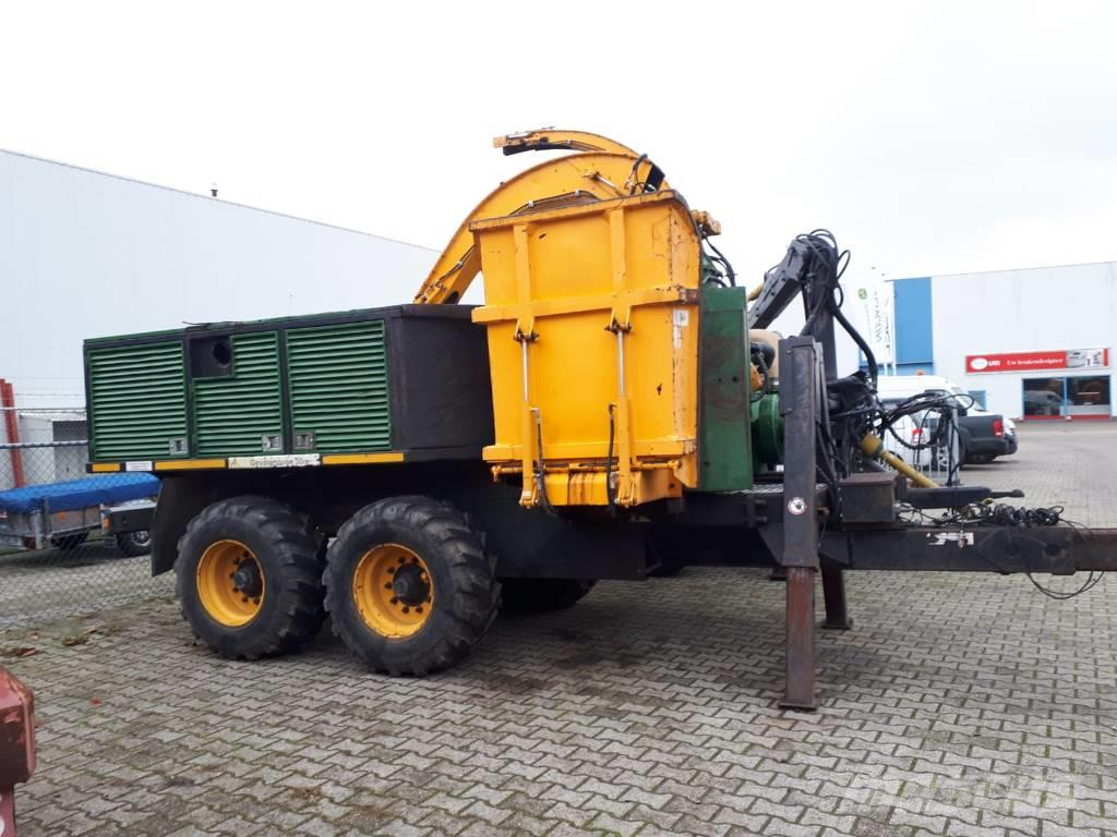 Dutch Dragon EC6060, woodchipper, holzhacker, houtversnipperaar