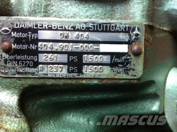Mercedes-Benz OM404 / OM 404, 1988, Motorer