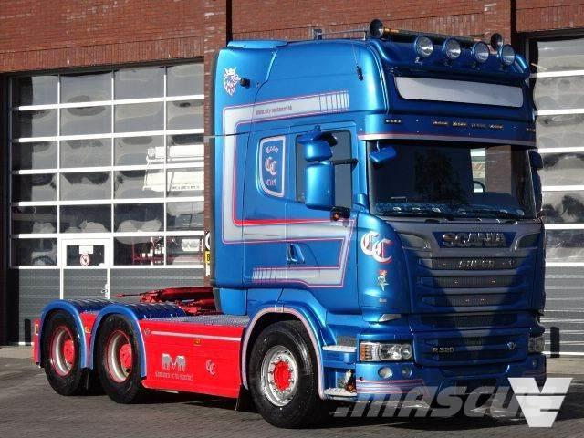 Scania R580 Topline 6x4 Hub reduction - Full spec - Retar
