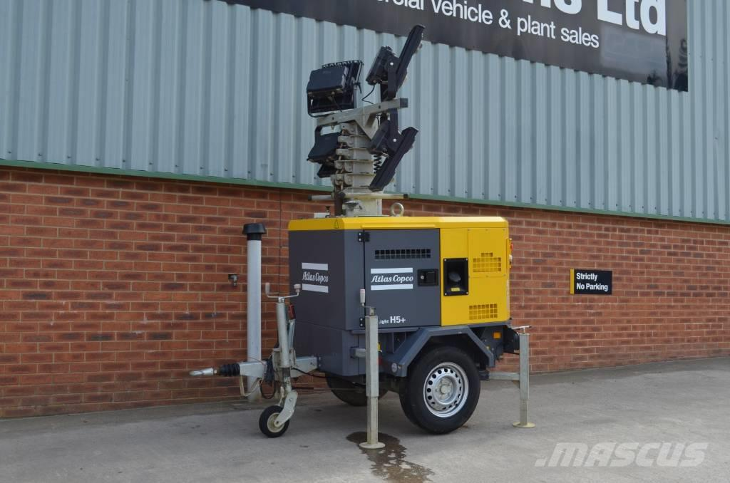 Atlas Copco HILIGHT H5+, ONLY DONE 167 HOURS.